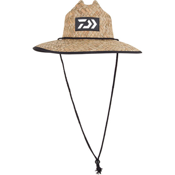 Daiwa Men's Print Straw Hat, , bcf_hi-res