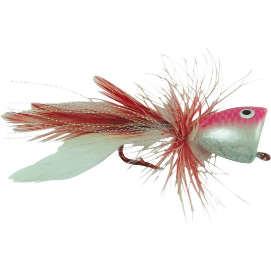 Neptune Surf Popper Surface Lure Red Large, Red, bcf_hi-res