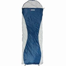 Roman Starlite 400 Hooded Sleeping Bag Blue, , bcf_hi-res