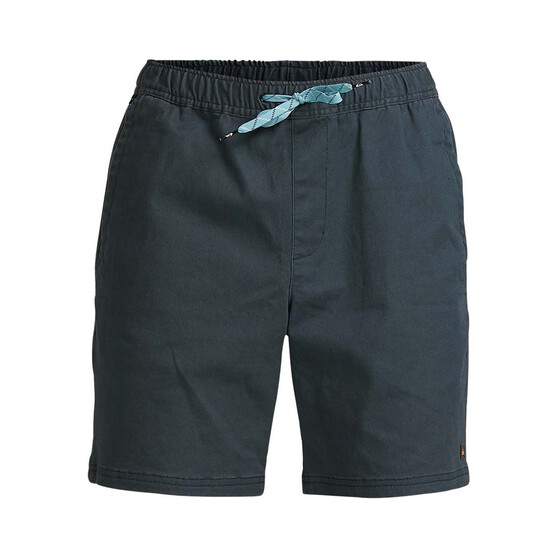 Quiksilver Waterman Men's Cabo Shore Cotton 19 Shorts Navy Wash 34, Navy Wash, bcf_hi-res