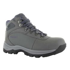 Hi-Tec Women's Altitude Base Camp Hiking Boots Grey / Grape US 6, Grey / Grape, bcf_hi-res