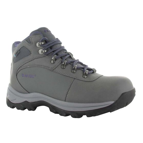 69a403a1f9d Hi-Tec Women's Altitude Base Camp Hiking Boots Grey / Grape US 6