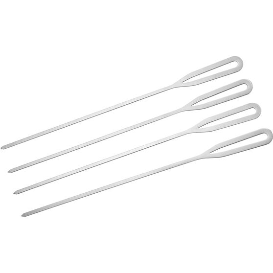 Stainless Steel BBQ Skewer 4 Pack, , bcf_hi-res