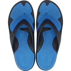Crocs Men's Modi Sport Thongs Navy / Ocean M7 / W9, Navy / Ocean, bcf_hi-res