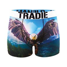 Tradie Men's Eagle Trunks, , bcf_hi-res