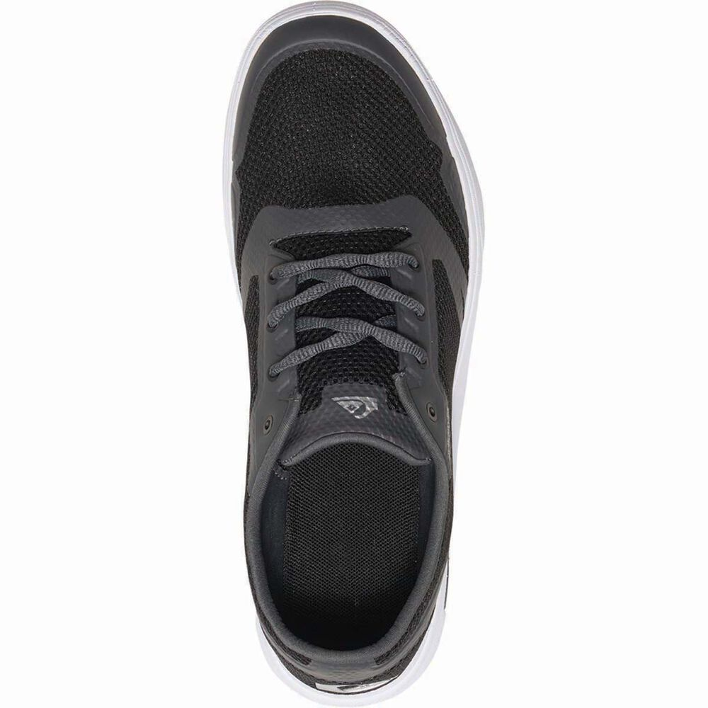 aea7a8f9a44e Quiksilver Men s Amphibian Plus Aqua Shoes Black   Grey   White 13