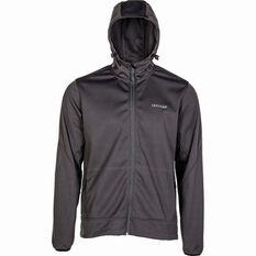 Men's Ascent V4 Softshell Jacket Grey S, Grey, bcf_hi-res