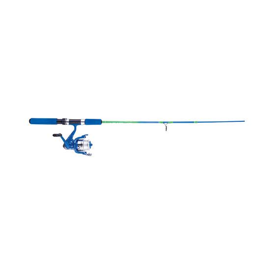 Jarvis Walker Blaze Junior Spinning Combo Blue 5ft 2in 2-4kg (2 Piece), Blue, bcf_hi-res