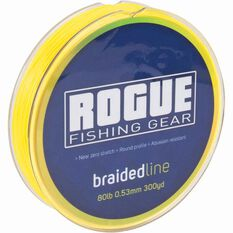 Rogue Braid Line 150yds 6lb Yellow 150yds, , bcf_hi-res