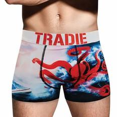 Tradie Men's Olly Octopus Trunk, Print, bcf_hi-res