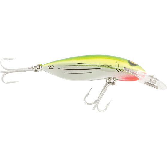RMG Scorpion Double Deep Hard Body Lure 90mm Liquid Lime 90mm, Liquid Lime, bcf_hi-res
