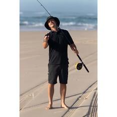Quiksilver Waterman Men's Water 2 Polo, Black, bcf_hi-res