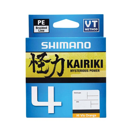 Shimano Kairiki 4 PE Braid Line, , bcf_hi-res