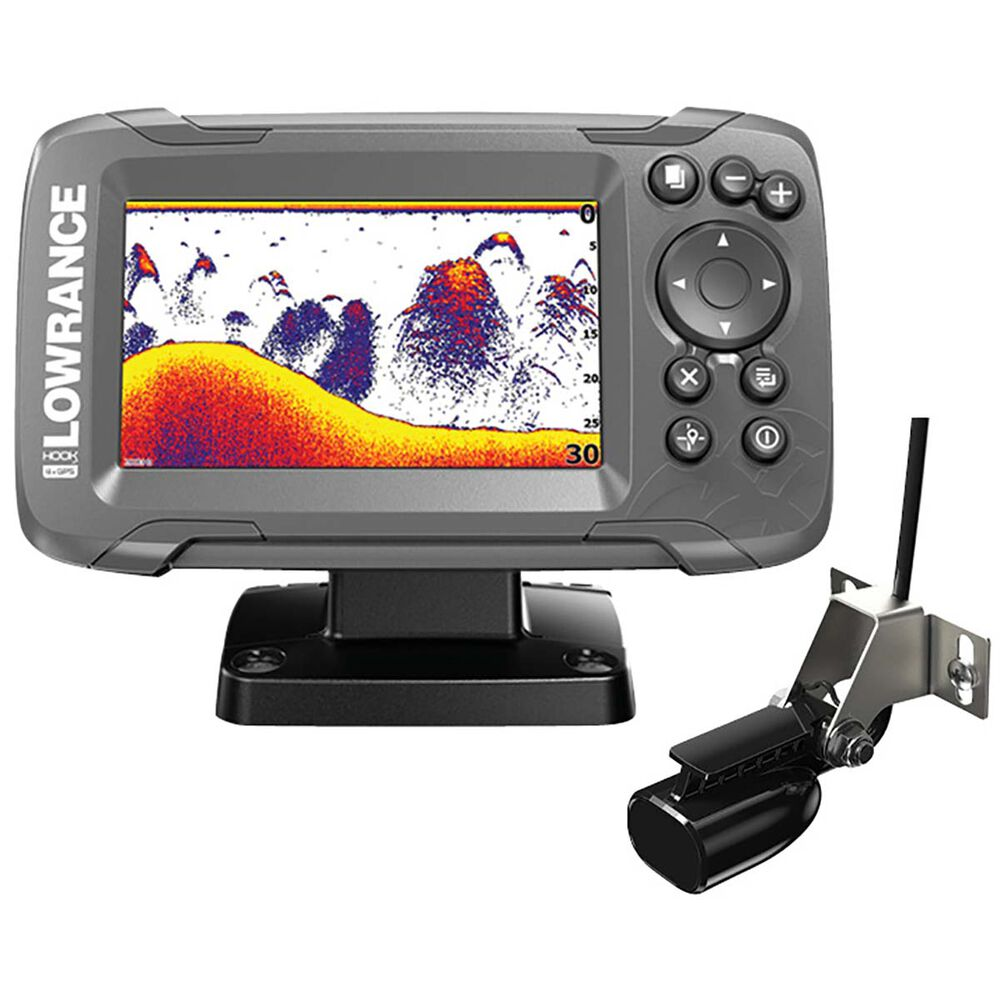Lowrance Hook2 4x Gps Fishfinder Including Transducer Bcf Nmea Cable Wiring Diagram Hi Res