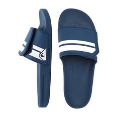 Quiksilver Men's Rivi Adjust Slides Blue / White 9, Blue / White, bcf_hi-res