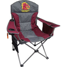 NRL Brisbane Broncos Camp Chair, , bcf_hi-res