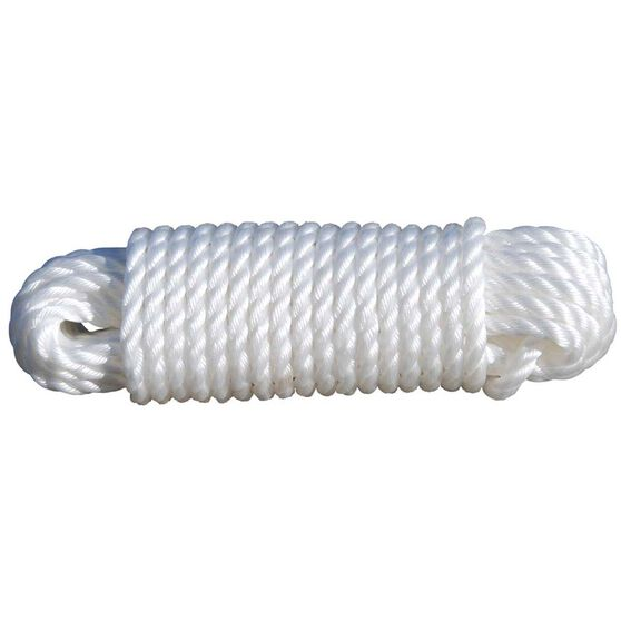 BCF Silver Rope Tie Down 6mm x 15m, , bcf_hi-res