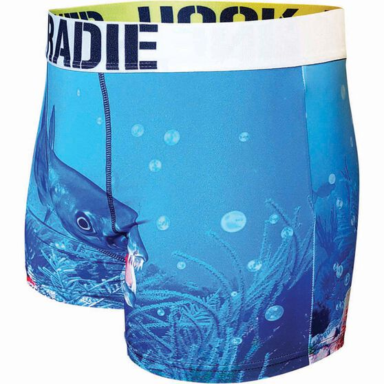 Tradie Men's Barracuda Underwear Print S Men's, Print, bcf_hi-res