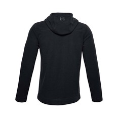 Under Armour Men's Offgrid Fleece Hoodie Black / Pitch Gray S, Black / Pitch Gray, bcf_hi-res