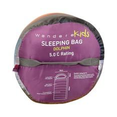 Wanderer Kids +5C Sleeping Bag, , bcf_hi-res