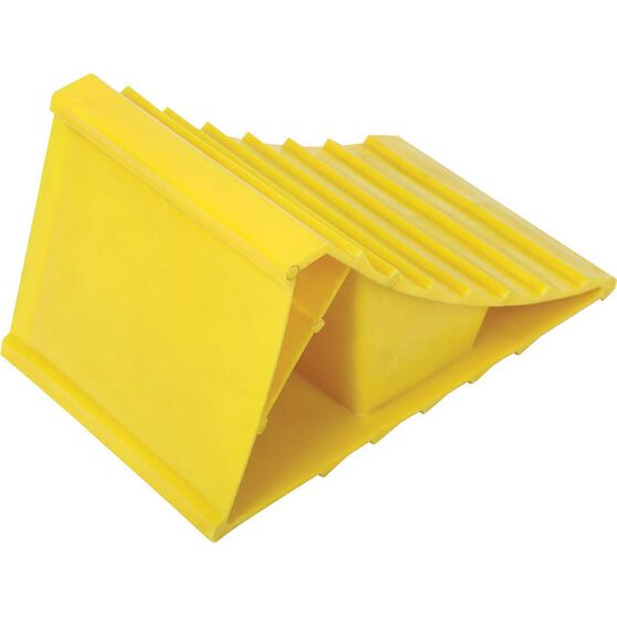 Plastic Wheel Chock 2 Pack, , bcf_hi-res