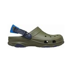 Crocs Men's All Terrain Clog Green / Navy 7, Green / Navy, bcf_hi-res