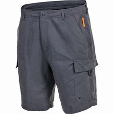 Savage Men's Cargo Shorts Grey S, Grey, bcf_hi-res
