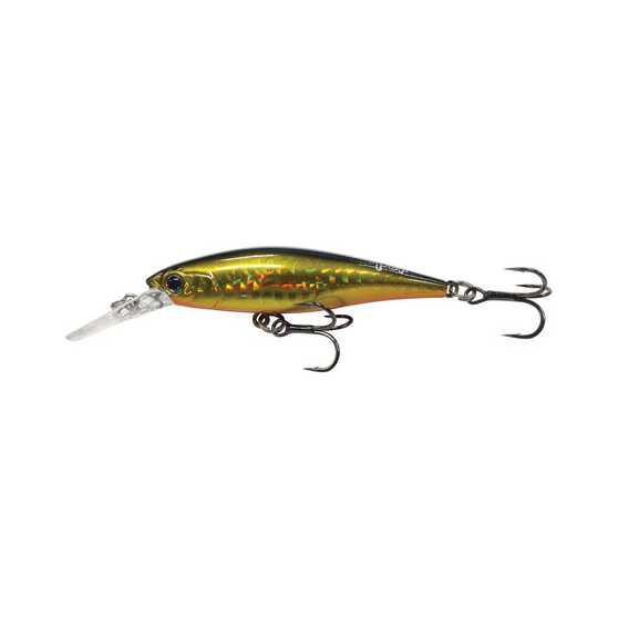 Asari Sweeper Hard Body Lures 7cm XD Black Gold, Black Gold, bcf_hi-res
