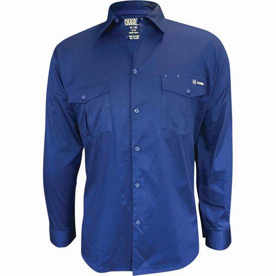 Tradie Men's Long Sleeve Drill Shirt, , bcf_hi-res