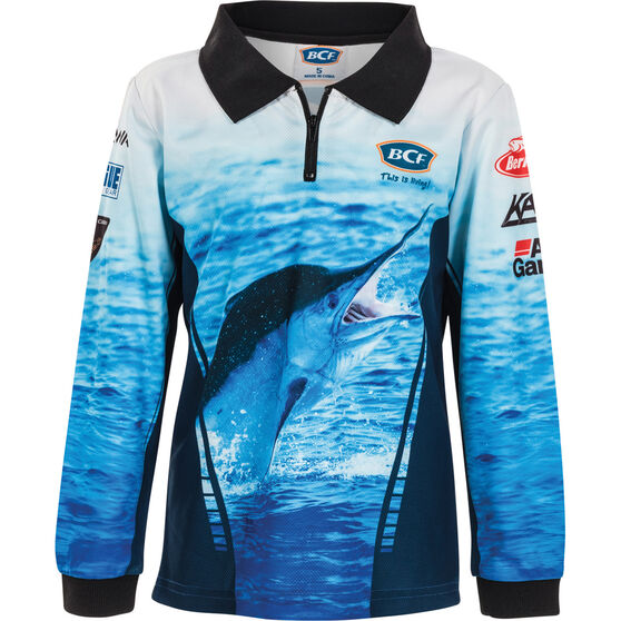 BCF Kids' Marlin Sublimated Polo, , bcf_hi-res