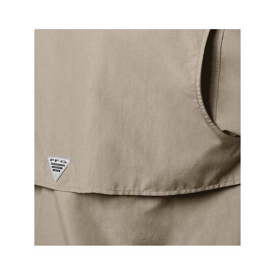 Columbia Men's Bahama II Long Sleeve Fishing Shirt, Fossil, bcf_hi-res