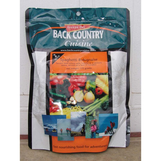 Back Country Cuisine Freeze Dried Spaghetti Bolognese, , bcf_hi-res