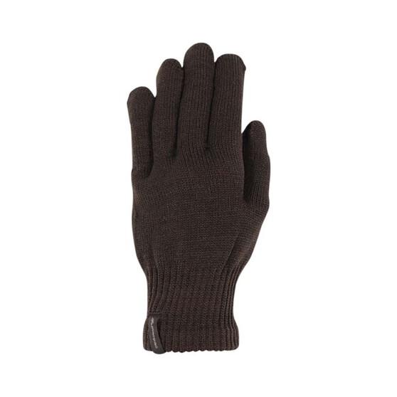 Macpac Unisex Polypro Gloves, Black, bcf_hi-res