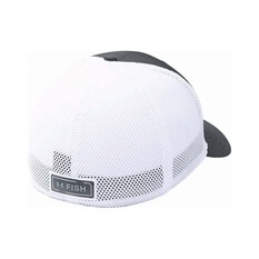 Under Armour Mens Fish Hunter Cap Pitch Grey / White S, Pitch Grey / White, bcf_hi-res