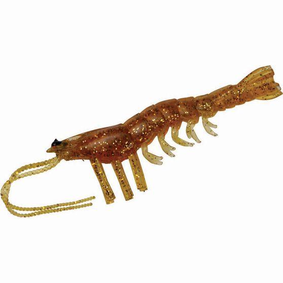 Savage Manic Shrimp Soft Plastic Lure 4in Golden, Golden, bcf_hi-res