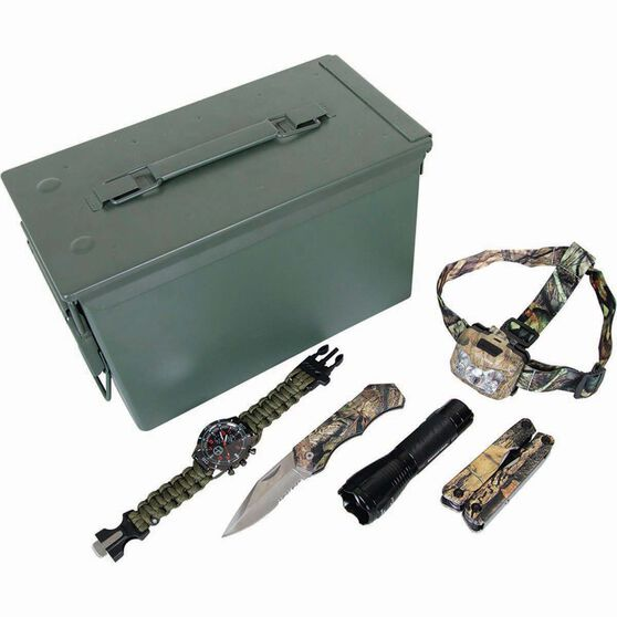 Mossy Oak Essentials Tin 6 Piece, , bcf_hi-res