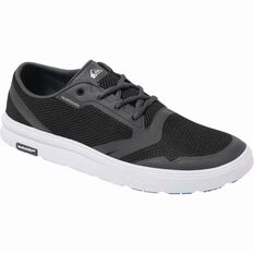Men's Amphibian Plus Aqua Shoes Black / Grey / White 8, Black / Grey / White, bcf_hi-res