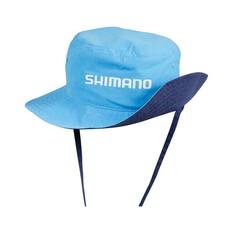 Shimano Kids Reversible Bucket Hat Navy / Cyan, , bcf_hi-res