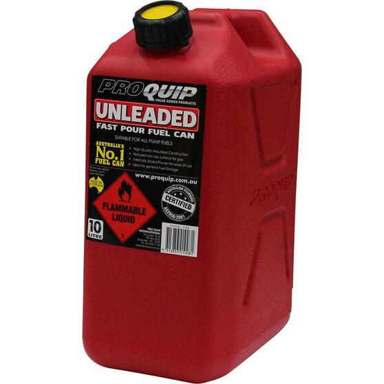 Pro Quip 10L Fuel Plastic Jerry Can, , bcf_hi-res