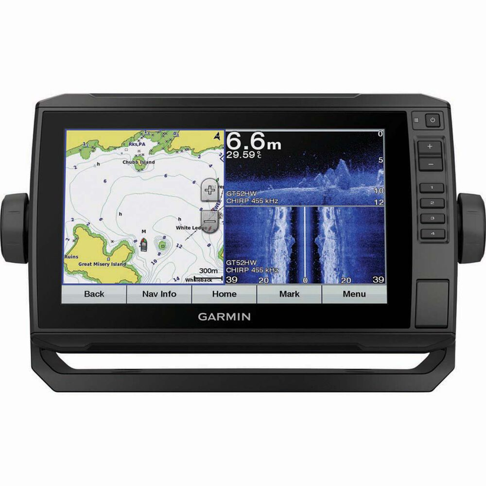 Garmin EchoMap Plus 95SV Combo Including Transducer and Charts