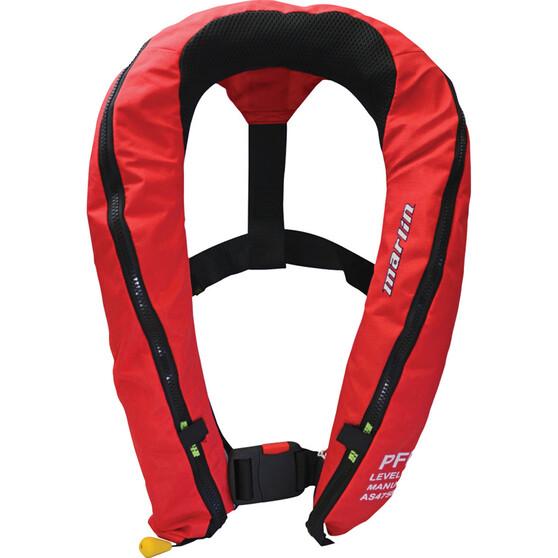 Marlin Australia 360D Manual Inflatable PFD 150 Red, Red, bcf_hi-res
