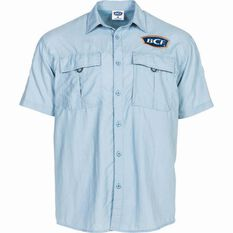 BCF Short Sleeve Fishing Shirt Spray L, Spray, bcf_hi-res