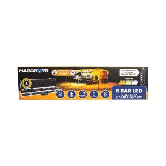 Korr 6 Bar Tri Colour LED Camp Light Kit, , bcf_hi-res