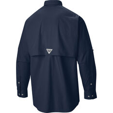 Columbia Men's Bonehead Long Sleeve Shirt Navy S, Navy, bcf_hi-res