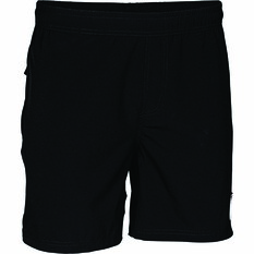 The Mad Hueys Men's Hybrid Volley Short, Black, bcf_hi-res