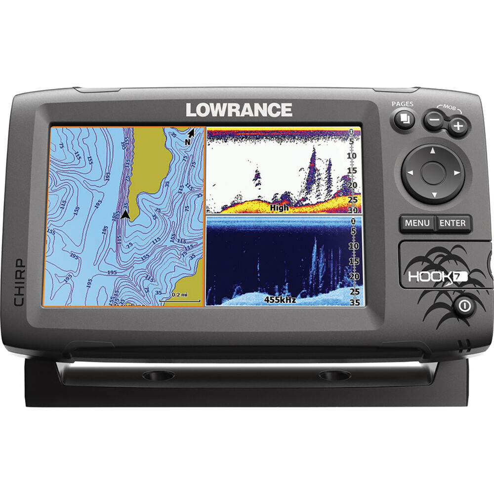 Ex-Demo Lowrance Hook 7 (Head Unit Only)