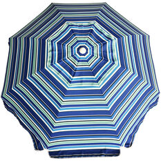 Wanderer 2.0m Summer Stripe Umbrella, , bcf_hi-res