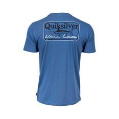 Quiksilver Waterman Men's Sword Fight Tee, Ensign Blue, bcf_hi-res