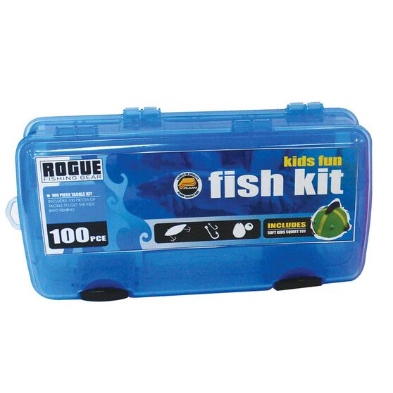 Rogue Kids' Tackle Kit Blue, Blue, bcf_hi-res