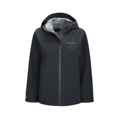 Macpac Women's Dispatch Rain Jacket Black 8, Black, bcf_hi-res